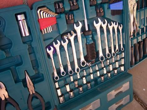tool kit hand tools