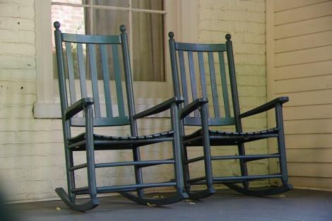 Retirement rocking chairs
