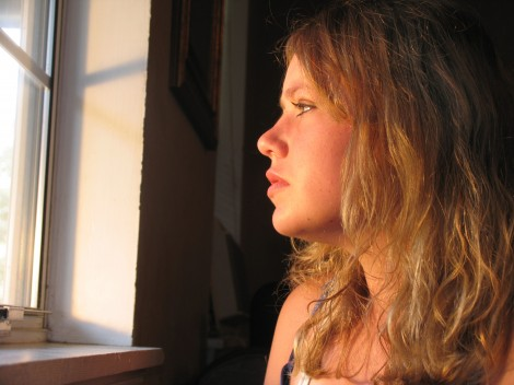 file000324750683young youth thoughtful contemplate future concern girl think millennial