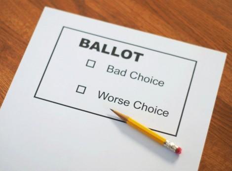 SONY DSCballot vote bad choice worse choice
